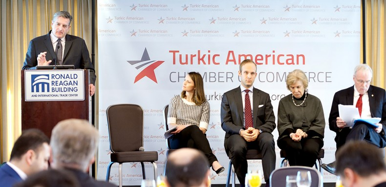 Turkic American Business Breakfast Meeting 2015