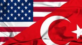 Turkey-USA-America-Flag
