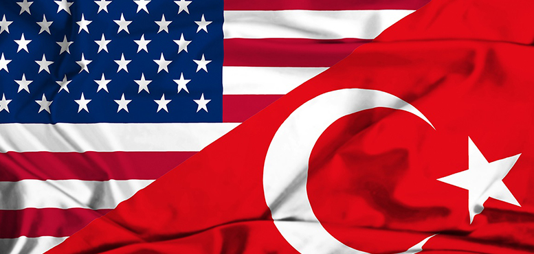 Turkey-USA-America-Flag