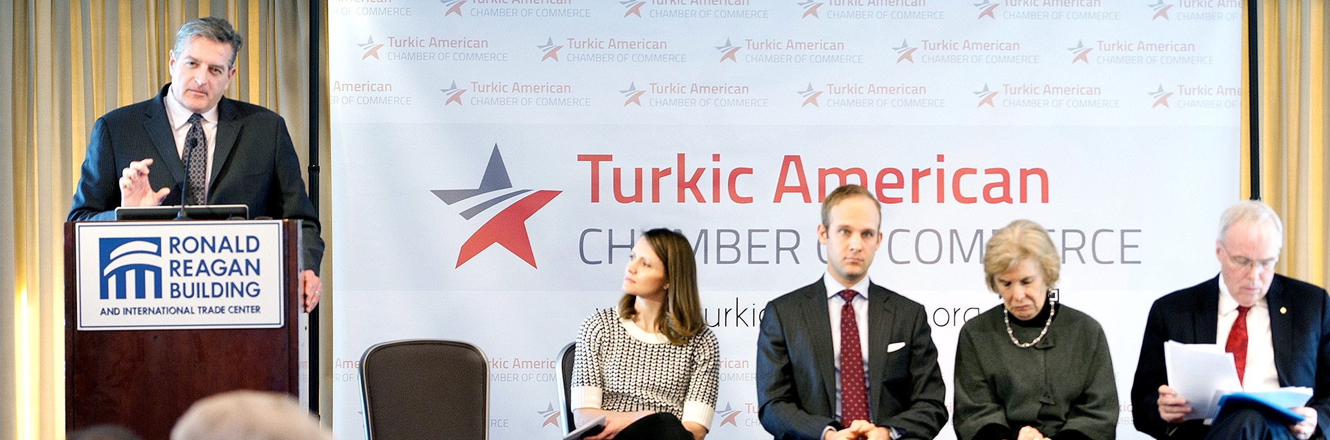 Turkic American Business Breakfast Meeting 2015